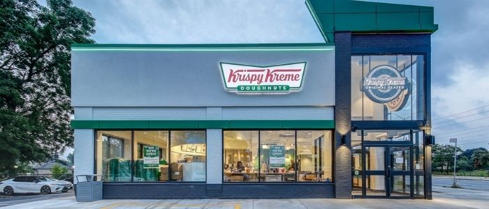 Kispy Kreme commercial building