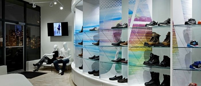 Beautiful Luxury shoe display